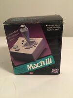 NOS MACH III Joystick Apple II CH Products working w/original box Vintage