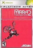 Dave Mirra Freestyle BMX 2 Platinum Hits (Microsoft Xbox, 2003)