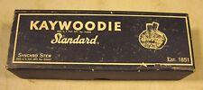 Vintage Antique Kaywoodie Standard Synchro Stem Smoking Pipe Original Box