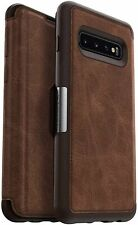OtterBox Strada Series Case for Galaxy S10+ - Bulk Packaging - Espresso