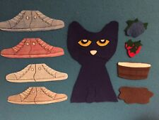 Pete the Cat I Love My White Shoes Felt Flannel Board Story Teacher Resource