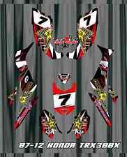 TRX 300 TRX300  HONDA EX 07-12   FOURTRAX  SEMI CUSTOM GRAPHICS KIT starstruck