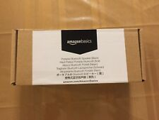 AmazonBasics Portable Bluetooth Speaker, Black, New w/Box, See Pics!