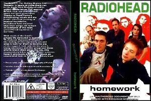 Radiohead Music Documentary DVD Rare