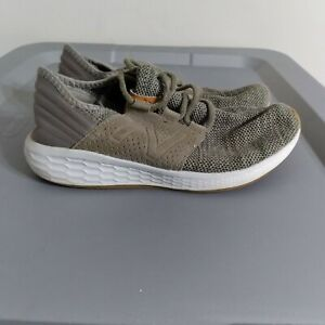 New Balance Fresh Foam Cruz Youth Boys Size 3 Shoes Green/White Athletic Sneaker