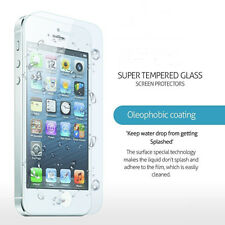 1PC Clear Tempered Glass Screen Protector Film Cover For Apple iphone 5 5S