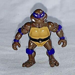"""TMNT Teenage Mutant Ninja Turtles Donatello 2.5"""" Mini Playmates Vintage 1996"""