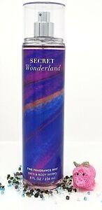 Bath and Body Works SECRET WONDERLAND Fine Fragrance Mist 8 fl oz /236mL *NEW*