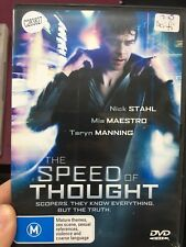 The Speed Of Thought ex-rental region 4 DVD (2011 Nick Stahl sci-fi movie)
