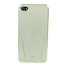 Iskin-aura-Premium Ultra Slim cover-funda-iPhone 4 4s-White