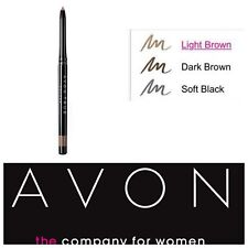 AVON GLIMMERSTICK EYEBROW pencil True Color soft black light brown or dark brown