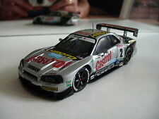 Ebbro MMP Nissan Skyline GT-R R34 in Grey on 1:43