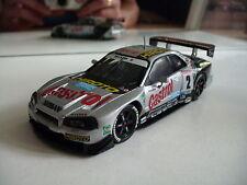 Ebbro MMP Nissan Skyline GT-R R34 in Grey on 1:43