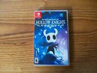 Hollow Knight Switch - OPENED INCLUDES MAP & MANUAL - FREE US SHIPPING
