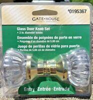 New Gatehouse Passage Glass Door Knob(s) #E0195367
