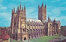 PICTURE POSTCARD: CANTERBURY CATHEDRAL, KENT