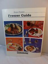 Montgomery Ward Home Freezer Guide EUC Vintage 1984 Collectible Stage TV Prop