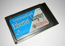 Vtg Dayna CommuniCard PCMCIA Ethernet LAN Adapter PC Card 98056-01 Mac PowerBook