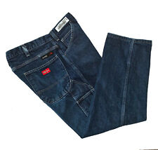 Dickies, Dark Wash Durable Weight, Fire Resistant, Carpenter Jeans, size 36 x 30