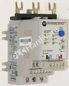 Allen Bradley 592-EC2DC Series C Solid-State Overload Relay Integrated I/O 9-45A