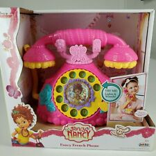 Disney Junior Fancy Nancy Fancy French Phone Lights And Sounds For Ages 3+ New