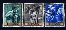 SPAIN - SPAGNA - 1969 - Pittura (XIII): Alonso Cano; Giornata del francobollo