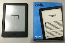 Amazon Kindle (8th Generation), Wi-Fi, 6in - Black - Excellent condition