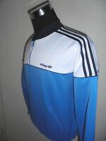 vintage 80`s ADIDAS Trainingsjacke Sportjacke track jacket oldschool Jacke D5 S