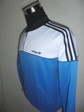 Vintage 80`S Adidas Track Suit Top Sports Jacket Old School D5 S