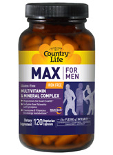 Max For Men Caps Country Life 120 VCaps