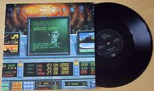 """EX/EX! Iron Maiden WASTED YEARS 12"""" Vinyl Disc 1986 (EMI 5583)"""