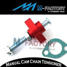 For Honda CBR 600 F3 95 96 97 98 Billet Red Manual Cam Chain Tensioner