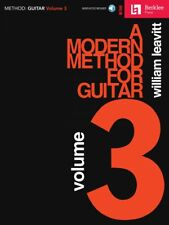 A Modern Method for Guitar Volume 3 - Berklee Methods Book and Audio 000292989