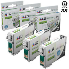 LD© Replacements for Epson T127 3pk HY Black Ink T127120