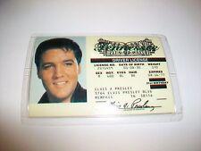 Laminated Tennessee Elvis Presley Driver License Souvenir