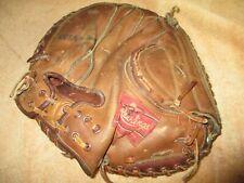 Vintage Earl Battey Autograph Professional Rawlings Baseball Catchers Glove Mit