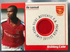 Topps - Arsenal Ashley Cole Match Worn Shirt Card Premier League