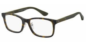 Tommy Hilfiger TH 1568/F 086 55mm Dark Havana Men Rx Eyeglasses Ophthalmic Frame