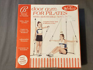 Bally Total Fitness Door Gym For Pilates NIB Trim-Tone & Firm - G