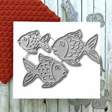 Fish Metal Cutting Die Stamp For Scrapbooking Making Embossing Stencil DIY