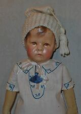 "Early 17"" *Kathe Kruse Doll #1* with Wide Hips"