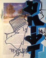 MOZE 156 -dessin double face / cadre recto-verso /cope2/seen/taki183/quik/jonone
