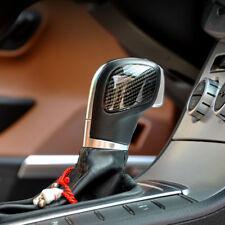 Carbon Fiber Color AT Gear Shift Knob Head Cover Trim For VW Golf 7 GTI Mk7 13+
