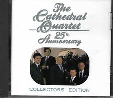 """THE CATHEDRAL QUARTET...""""25TH ANNIVERSARY""""...""""COLLECTORS' EDITION"""".....GOSPEL CD"""