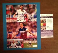 Lauren Holiday - 2015 World Cup Champs Autographed Signed 8 X 10 Soccer JSA USA