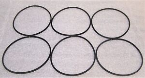 "LOT OF 6 FORD 9 INCH PINION ""O"" RING GENUINE FORD O.E.   FREE SHIPPING"