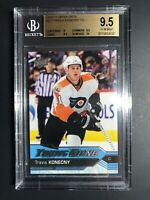 2016-17 Upper Deck Travis Konecny Young Guns Rookie BGS 9.5