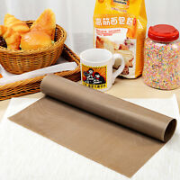 30*40cm Reusable Non Stick Cooking Liner Oven Microwave Grill Baking Mat Sheet.P