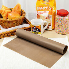 30*40cm riutilizzabile Antiaderente Cucinare Rivestimento FORNO A MICROONDE GRILL COTTURA Opaco Foglio