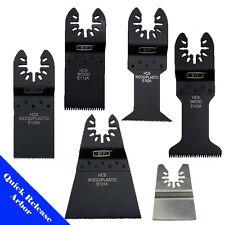 6 Saw Blade Oscillating Multi Tool Dewalt Porter Cable Craftsman Bosch Ridgid